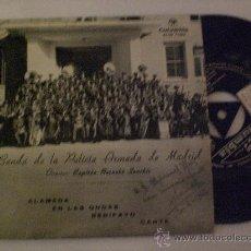 Discos de vinilo: BANDA POLICIA ARMADA MADRID, DISCO EP COLUMBIA EXCELENTE ESTADO (CON DEDICATORIA) OFERTA. Lote 29395701