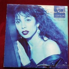 Discos de vinilo: JENNIFER RUSH - YOU´RE MY ONE AND ONLY . MAXI SINGLE . EPIC ESPAÑA 1988. Lote 29407186