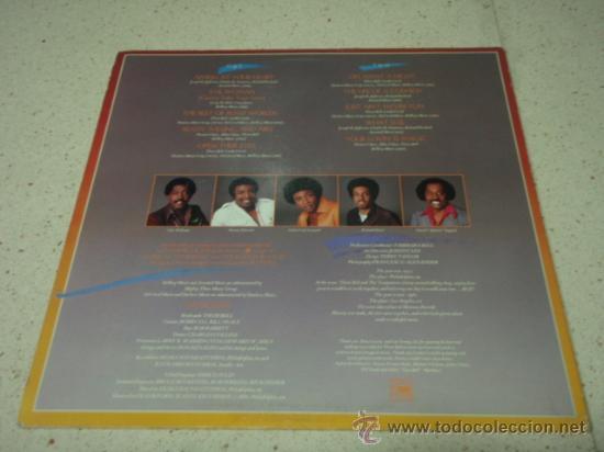 Discos de vinilo: THE TEMPTATIONS ' THE TEMPTATIONS ' LOS ANGELES-USA 1981 LP33 MOTOWN RECORDS - Foto 2 - 29407812