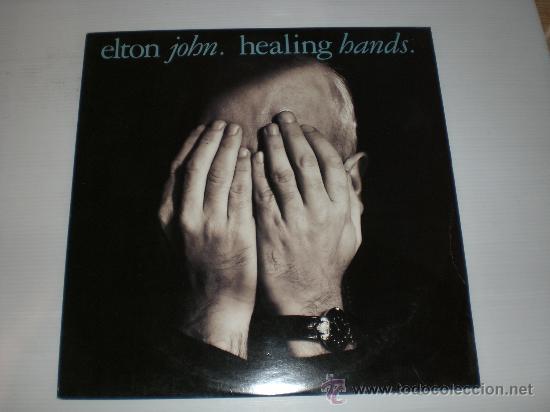 ELTON JOHN, HEALING BANDS, MAXI UK 1989, NUEVO (Música - Discos de Vinilo - Maxi Singles - Pop - Rock - New Wave Internacional de los 80)