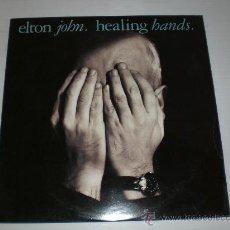 Discos de vinilo: ELTON JOHN, HEALING BANDS, MAXI UK 1989, NUEVO. Lote 46678355