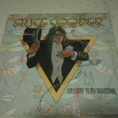Discos de vinilo - ALICE COOPER ( WELCOME TO MY NIGHTMARE ) USA - 1975 LP33 ATLANTIC - 29411773