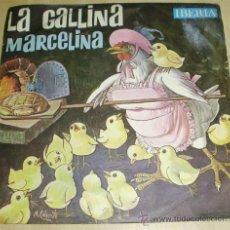 Discos de vinilo: - DISCO CUENTO LA GALLINA MARCELINA - EDITADO EN 1.964. Lote 29412009