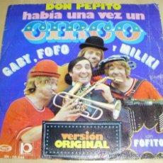 Discos de vinilo: - DISCO GABY FOFO MILIKI HABIA UNA VEZ UN CIRCO - EDITADO EN 1.974 . Lote 29412052
