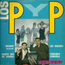 Discos de vinilo: LOS P Y P CON LOS LATIN QUARTET EP SELLO BELTER AÑO 1964 EDICCIÓN ESPAÑOLA.. Lote 29412637