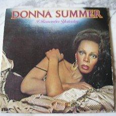 Discos de vinilo: DONNA SUMMER.- I REMEMBER YESTERDAY. Lote 29412771