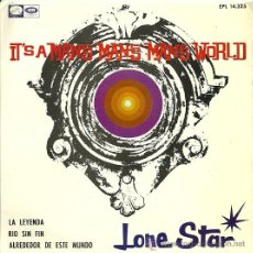 Discos de vinilo: LONE STAR EP SELLO LA VOZ DE SU AMO AÑO 1966 EDICCIÓN ESPAÑOLA. . Lote 29413205