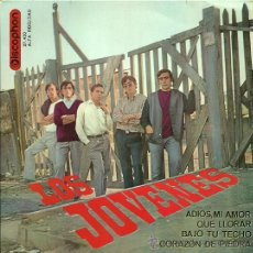 Discos de vinilo: LOS JOVENES EP SELLO DISCOPHON AÑO 1965 EDICCIÓN ESPAÑOLA. . Lote 29413236