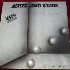 Discos de vinilo: ASHES AND STARS - THE BEAT GOES ON . MAXI SINGLE . DISCOS PDI 1984 ESPAÑA. Lote 29424373