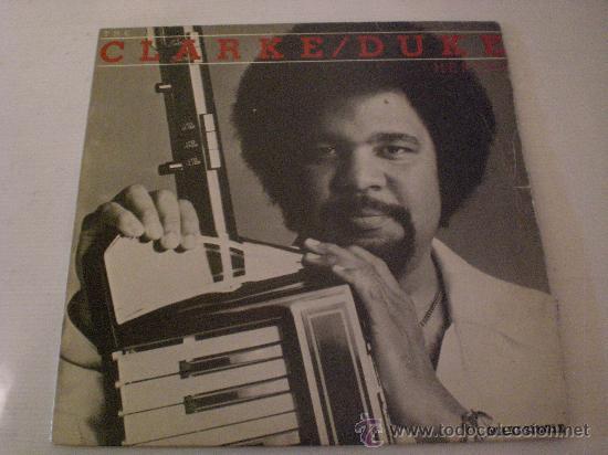 STANLEY CLARK-GFEORGE DUKE, HEROES, MAXI CBS SPAIN 1983 (Música - Discos de Vinilo - Maxi Singles - Funk, Soul y Black Music)