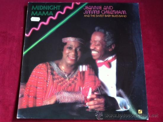 JEANNIE AND JIMMY CHEATHAM - MIDNIGHT MAMA . LP . CONCORD JAZZ 1986 GERMANY (Música - Discos - LP Vinilo - Jazz, Jazz-Rock, Blues y R&B)