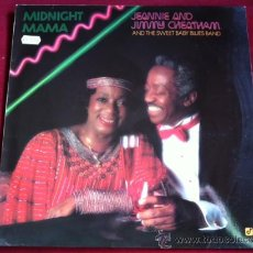 Discos de vinilo: JEANNIE AND JIMMY CHEATHAM - MIDNIGHT MAMA . LP . CONCORD JAZZ 1986 GERMANY. Lote 29427675