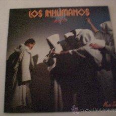 Discos de vinilo: LOS INHUMANOS,, MANUE, MAXI 1985 EXCELENTE ESTADO. Lote 29428842