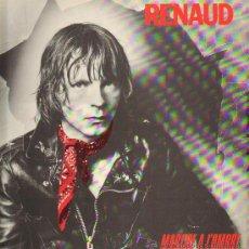 Discos de vinilo: RENAUD - MARCHE A L'OMBRE - LP 1980 - BIEN CONSERVADO. Lote 29435433