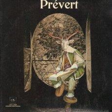 Discos de vinilo: PREVERT - L'ENCICLPEDIE SONORE. FESTIVAL POETIQUE - DOBLE LP 1979 - PORTADA DOBLE - . Lote 29435875