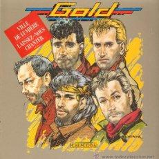 Discos de vinilo: GOLD - CALICOBA - LP 1986. Lote 29435981