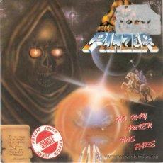Discos de vinilo: PANZER - NO HAY QUIEN NOS PARE / CUERVOS NEGROS (45 RPM) CHAPA 1986 - PROMO! - EX/EX+. Lote 29431752