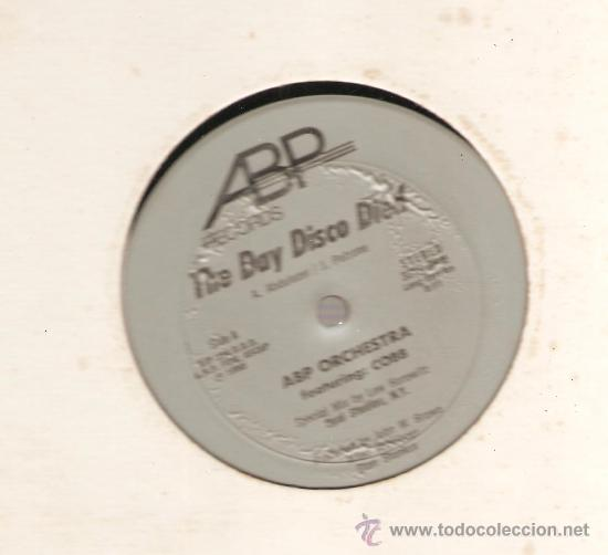 SINGLE 12 PULGADAS : ABP ORCHESTRA : THE DAY DISCO DIED (Música - Discos - Singles Vinilo - Disco y Dance)