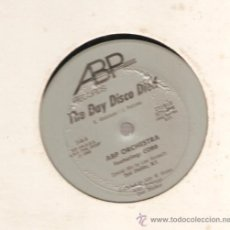 Discos de vinilo: SINGLE 12 PULGADAS : ABP ORCHESTRA : THE DAY DISCO DIED . Lote 29435922
