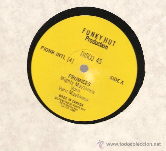 SINGLE 12 PULGADAS: MIGHTY MAYTONES - PROMISES (Música - Discos - Singles Vinilo - Disco y Dance)