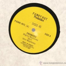 Discos de vinilo: SINGLE 12 PULGADAS: MIGHTY MAYTONES - PROMISES . Lote 29436021