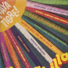 Discos de vinilo: LP UN CABILLAZO DE SALSA : WILLIE COLON, CHEO FELICIANO, CELIA CRUZ, HECTOR LAVOE, ETC . Lote 29436501