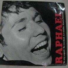 Discos de vinilo: SINGLE RAPHAEL. Lote 29438841