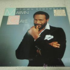 Discos de vinilo: MARVIN GAYE ( MOTOWN REMEMBERS MARVIN GAYE ) USA 1986 - GERMANY LP33 MOTOWN RECORDS. Lote 29439986