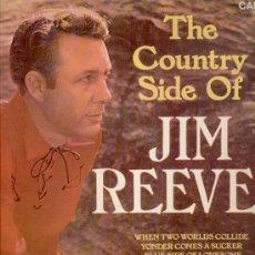 Discos de vinilo: JIM REEVES - TEMAS EN PORTADA - LP . Lote 29440410