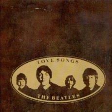 Discos de vinilo: THE BEATLES - LOVE SONGS - TEMAS EN CONTAPORTADA - DOBLE LP HOLANDA. Lote 29441306