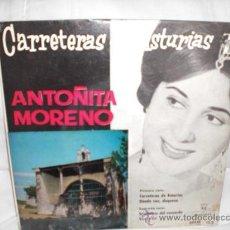 Discos de vinilo: ANTOÑITA MORENO-EP-CARRETERAS DE ASTURIAS+3. Lote 29443231