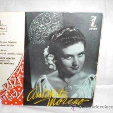 Discos de vinilo: ANTOÑITA MORENO-EP-DE ESPAÑA PARA COLOMBIA+3. Lote 29443271