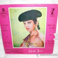 Discos de vinilo: ANTOÑITA MORENO-EP-EL CORDON DE MI CORPIÑO+3. Lote 29443291