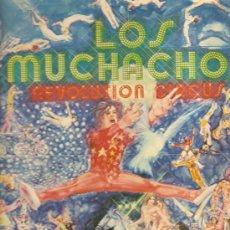 Discos de vinilo: LP LOS MUCHACHOS : TEMAS DE LED ZEPPELIN, CHUCK BERRY, URIAH HEEP, GRAND FUNK, HOT CHOCOLATE . Lote 29443489
