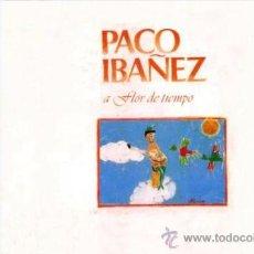 Discos de vinilo: LOTE PACO IBAÑEZ - A FLOR DE TIEMPO 1978 & EN EL OLYMPIA 1969 (1978) PORTADAS TIPO ALBUM. Lote 29443788