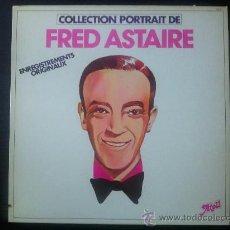 Discos de vinilo: FRED ASTAIRE - COLLECTION PORTRAIT DE - AN EVENING WITH FRED ASTAIRE - LP VINILO 12. Lote 29455260