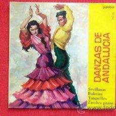 Discos de vinilo: DANZAS DE ANDALUCIA. Lote 29533369