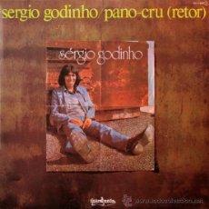 Discos de vinilo: SERGIO GODINHO - PANO-CRU (RETOR) - GUIMBARDA 1978 - CONSERVA EL FOLLETO ORIGINAL CON LAS LETRAS. Lote 29444142
