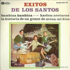 Discos de vinilo: LOS SANTOS EP SELLO MUSIC HALL AÑO 1963 EDICCIÓN ESPAÑOLA. Lote 29444730