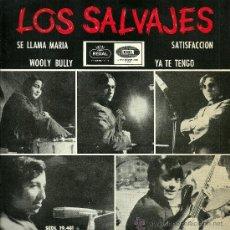Discos de vinilo: LOS SALVAJES EP SELLO EMI-REGAL AÑO 1965 EDICCIÓN ESPAÑOLA . Lote 29444802