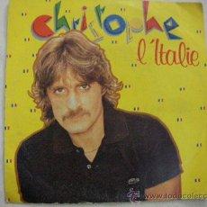 Discos de vinilo: SINGLE CRISTOPHE. Lote 29450626