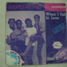 Discos de vinilo: SINGLE REVELATION. Lote 29451072