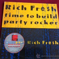 Discos de vinilo: RICH FRESH - TIME TO BUILT . MAXI SINGLE . CITY BEAT RECORDS UK 1988. Lote 29457368