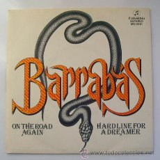 Discos de vinilo: EP . BARRABÁS . ON THE ROAD AGAIN . COLUMBIA. 1981. Lote 29465159