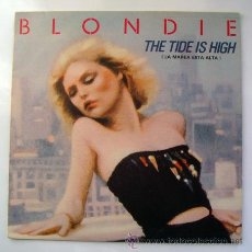 Discos de vinilo: EP . BLONDIE . THE TIDE IS HIGH . CHRYSALIS . 1980. Lote 29465196