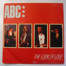 Discos de vinilo: EP . ABC . THE LOOK OF LOVE . MERCURY 1982. Lote 29465372
