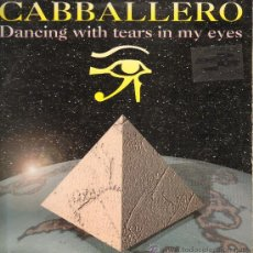 Discos de vinilo: CABALLERO - DANCING WITH TEARS IN MY EYES (4 VERSIONES) - MAXISINGLE 1995. Lote 29476919