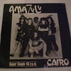 Discos de vinilo: AMAZULU, CAIRO VERS. REGGAE MAXI HISPA, 1983, SEMINUEVO. Lote 29477647