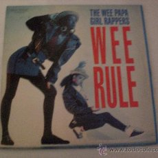Discos de vinilo: WEE PAPA GIRLS RAPPERS, VERS. REGGAE, MAXI BMG 1988, SEMINUEVO. Lote 117367252