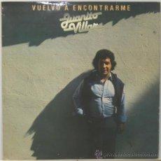Discos de vinilo: JUANITO VILLAR VUELVO A ENCONTRARME LP MOVIEPLAY 1982. Lote 29487655